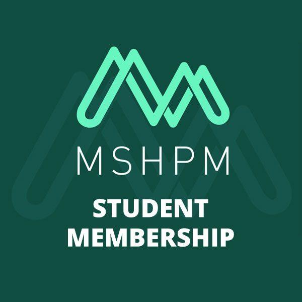 mshpm student membership product image